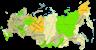 Карта регионов России с областями и республиками