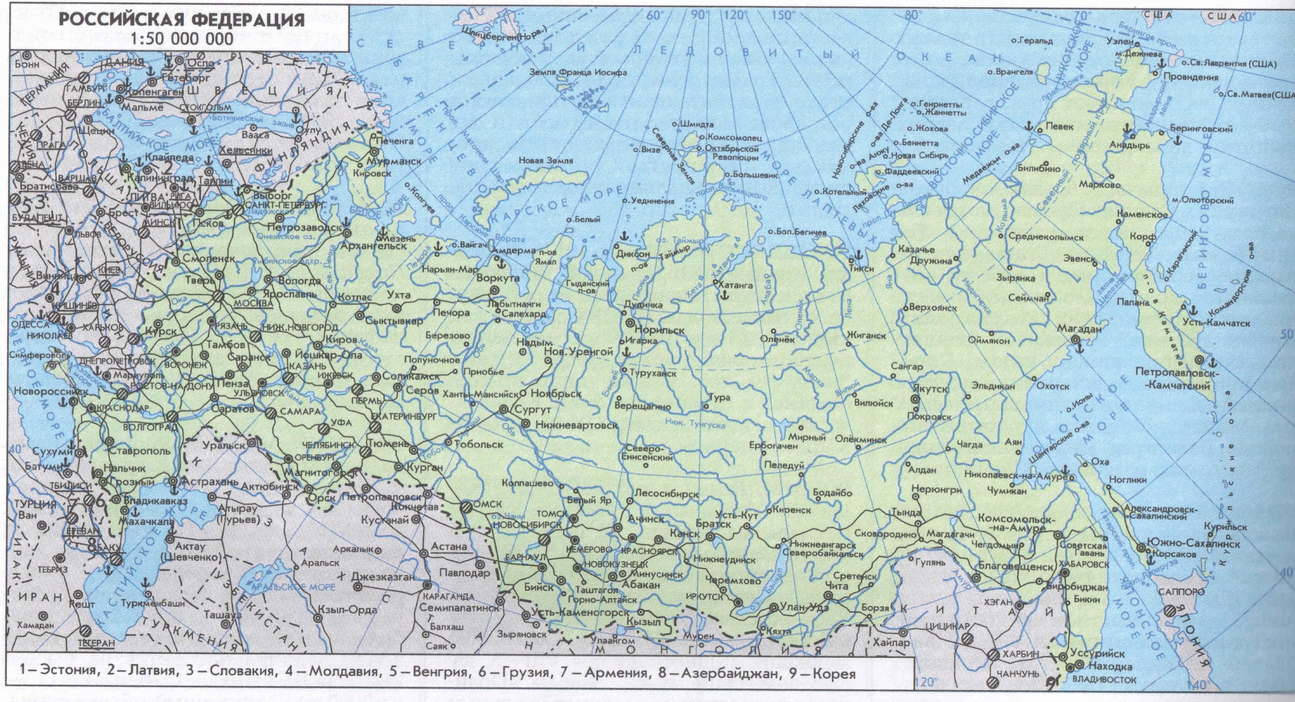 Схема железных дорог россии с городами фото 26